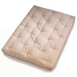 Memory Cloud Futon Mattress in Natural