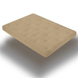 Memory Cloud Futon Mattress in Khaki