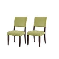 Steve Silver Company Tiffany Dining Chair in Lavish Lime