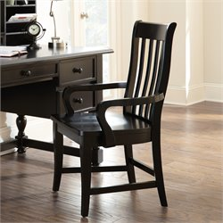 Steve Silver Bella Dining Chair in Black
