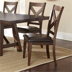 Steve Silver Clapton Dining Chair in Espresso