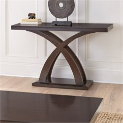 Steve Silver Jocelyn Console Table in Espresso Cherry