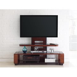 Steve Silver Kirkman TV Stand in Medium Cherry