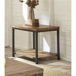 Steve Silver Lantana End Table in Antique Honey