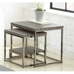 Steve Silver Lucia 2 Piece Nesting Table Set