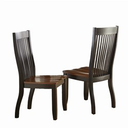 Steve Silver Lawton Dining Chair in Black