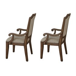 Steve Silver Wayland Dining Chair in Driftwood