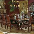 Steve Silver Company Antoinette Extension Dining Table in Cherry and Mahogany Finish