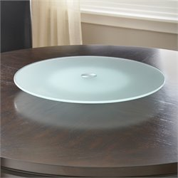 Steve Silver Avenue Glass Lazy Susan