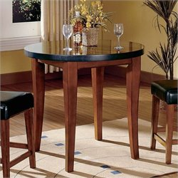 Steve Silver Company Bello Round Granite Counter Height Dining Table