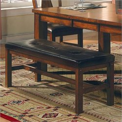 Steve Silver Company Lakewood Rich Oak Dining Bench