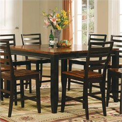 Steve Silver Company Abaco 5 Piece Counter Height Dining Table Set