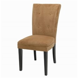Steve Silver Company Matinee Camel Fabric Parson Dining Chair