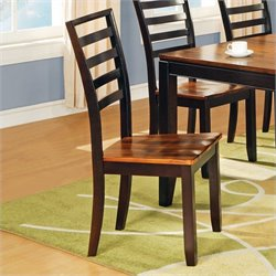 Steve Silver Company Abaco  Dining Chair in Acacia Finish
