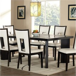 Steve Silver Company Delano Dining Table with 18 Inch Leaf