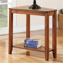 Steve Silver Company Joel Chairside End Table in Oak Finish