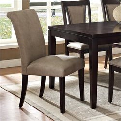 Steve Silver Company Wilson Dining Chair in Merlot Cherry