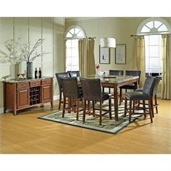 Steve Silver Company Montibello 10 Piece Counter Height Dining Set