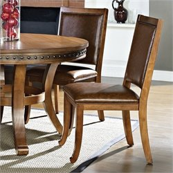 Steve Silver Ashbrook Dining Chair in Oak