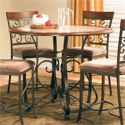 Steve Silver Company Thompson Round Counter Height Dining Table