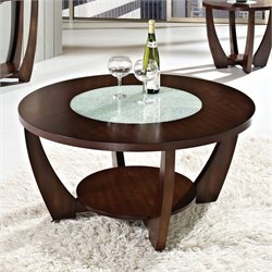 Steve Silver Company Rafael Cocktail Table in Cherry