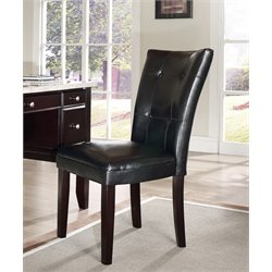 Steve Silver Monarch Parsons Chair in Cordovan Dark Cherry