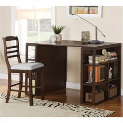 Steve Silver Company Bradford Writing Desk in Dark Oak