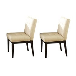 Steve Silver Berkley Dining Chair in Dark Espresso Cherry
