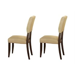 Steve Silver Tiffany Dining Chair in Espresso Cherry