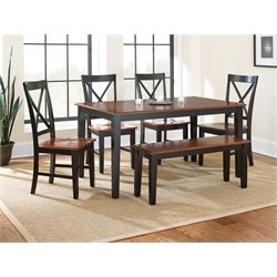 Steve Silver Kingston Dining Table in Oak