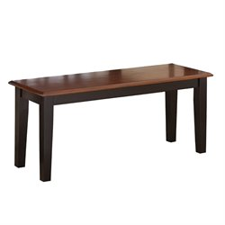 Steve Silver Kingston Bench in Oak