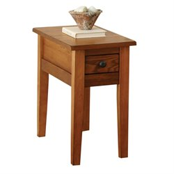 Steve Silver Liberty Chairside End Table in Oak