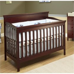 Sorelle Katherine 4 In 1 Crib with Mini Rail