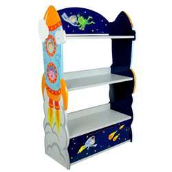 Fantasy Fields Outer Space Wooden 3 Shelf Bookcase