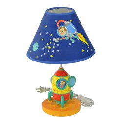 Fantasy Fields Outer Space Wooden Table Lamp