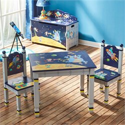 Fantasy Fields Outer Space 3 Piece Table and Chair Set