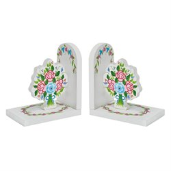 Fantasy Fields Bouquet 2 Piece Bookend Set