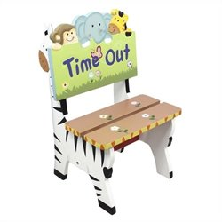 Fantasy Fields Hand Painted Sunny Safari Time Out Chair