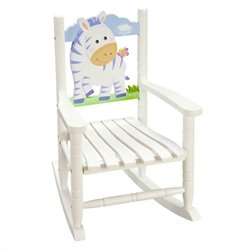 Fantasy Fields Hand Painted Safari Rocking Chair