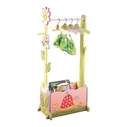Fantasy Fields Hand Painted Magic Garden Dress Up Valet Rack