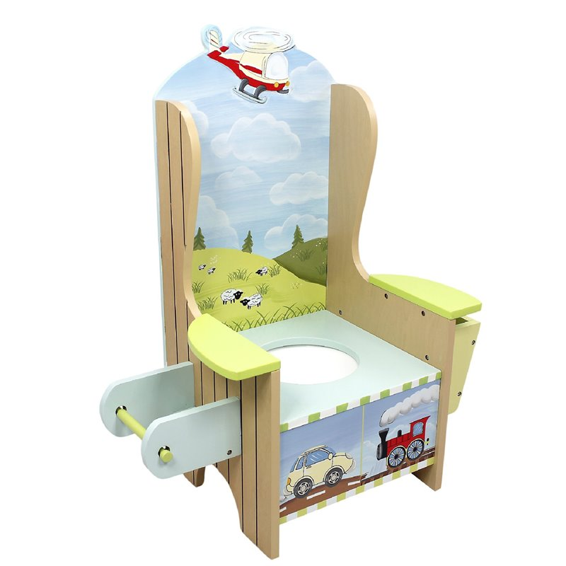 Fantasy Fields Transportation Potty Chair