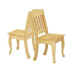Teamson Kids Windsor Set of 2 Chairs in Natural
