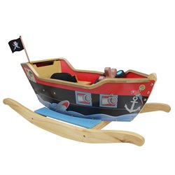 Teamson Kids Pirate Ship Ride On Toy