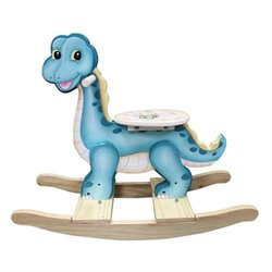 Fantasy Fields Hand Painted Dinosaur Kingdom Rocking Horse