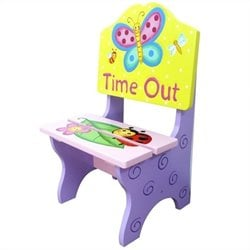 Fantasy Fields Hand Painted Magic Garden Time Out Chair