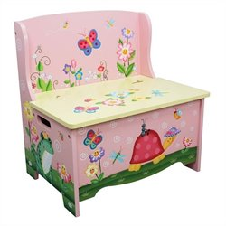 Fantasy Fields Magic Garden Storage Bench