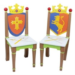Fantasy Fields Knights & Dragons Chairs (Set of 2)