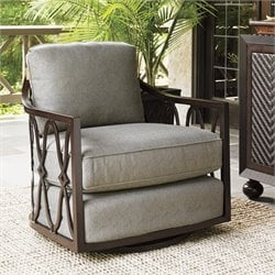 Black Sands Patio Swivel Tub Chair