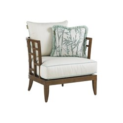 Tommy Bahama Ocean Club Resort Patio Lounge Chair in White