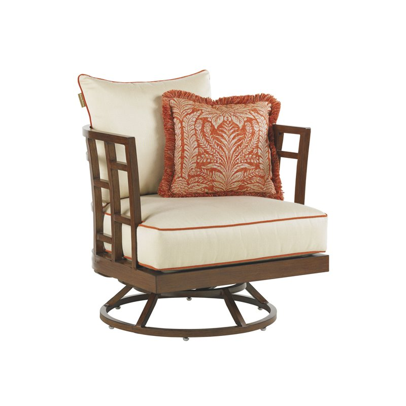 Tommy Bahama Ocean Club Resort Patio Swivel Lounge Chair